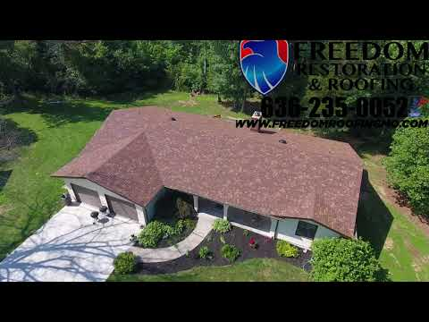 Warrenton MO Home Gets a New Roof