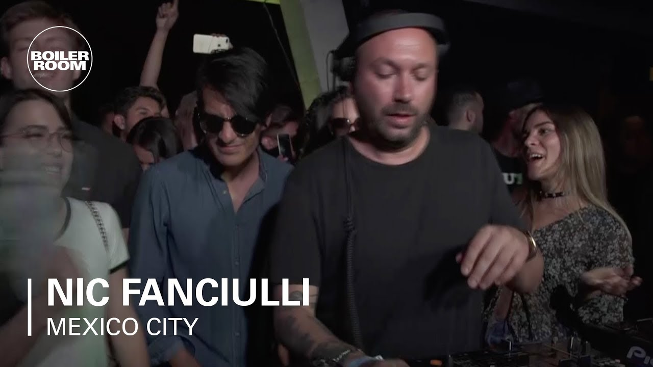 Nic Fanciulli - Live @ Boiler Room Mexico 2018
