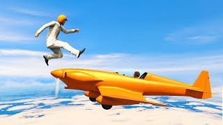 JUMP OR DIE! (Gta 5 Funny Moments)