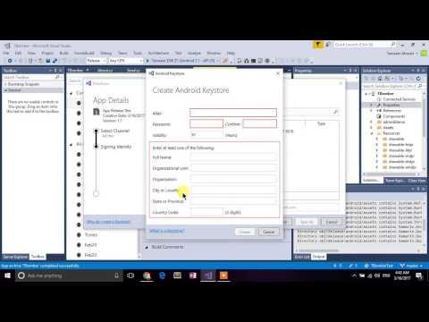 Xamarin produce a corrupted APK using Visual Studio
