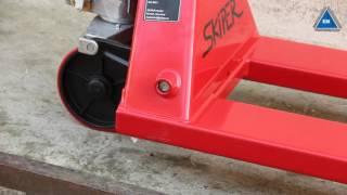 Гидравлическая тележка Skiper SKF 30 1150 PP Profi от компании ПКФ «Электромотор» - видео