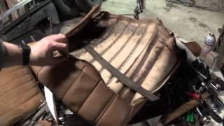 Mercedes-Benz 240D (W123) seat repair- part 6