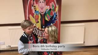 Boris 6th birthday party