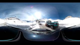 preview picture of video '360° Passo Pordoi Arabba'