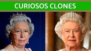 Los curiosos clones de la familia real británica