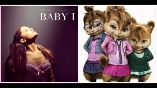 Ariana Grande - Baby I (Chipettes version)