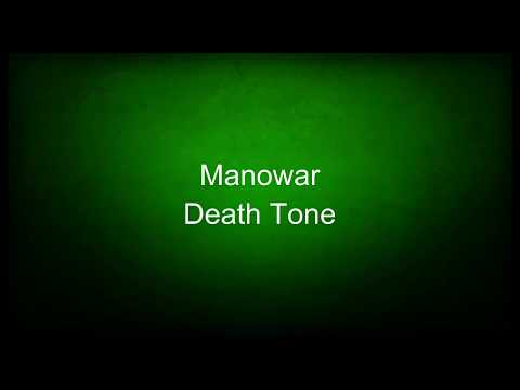 Manowar - Death Tone (lyrics)