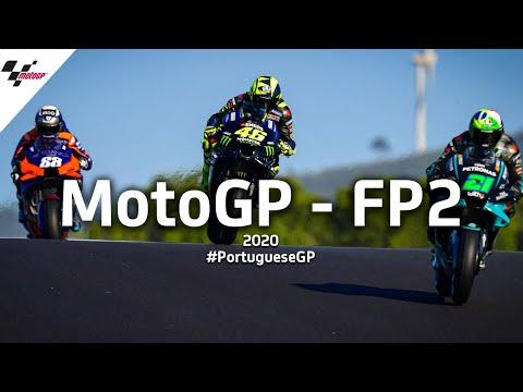 MotoGP ポルトガルGP 金曜日に行われたフリープラクティス2の様子をまとめたハイライト動画