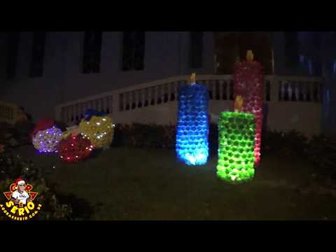 Igreja Católica de Juquitiba iluminação de Natal 2017