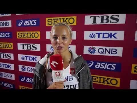 MŚ Doha 2019: Karolina Kołeczek po I rundzie