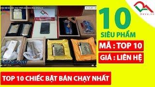 Top 10 mẫu bật lửa bán chạy Nhất của Deva Shop |Deva.vn