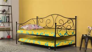 Assembly Instructions for Twin Metal Daybed with Trundle