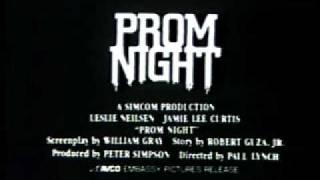Prom Night (1980) Video