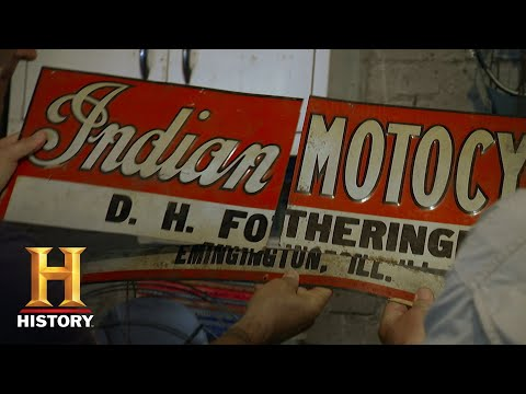 american-pickers-mike-picks-up-the-pieces-of-a-motocross-sign-s18-e8--history