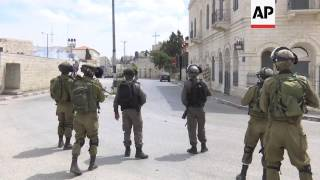 Palestinians, Israeli troops clash in Bethlehem