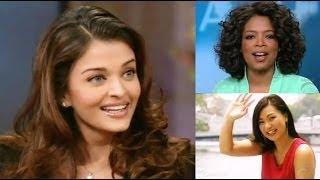Aishwarya Rai and Tara on Oprah