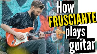 Why Do So Many Play This Riff Wrong #5  John Frusciante
