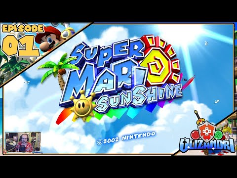 Super Mario Sunshine - Isle Delfino Mistaken Identity, Bianco Hills Petey Pirahna - Episode 1