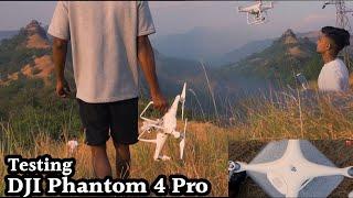 DJI Phantom 4 pro / Testing our new toy