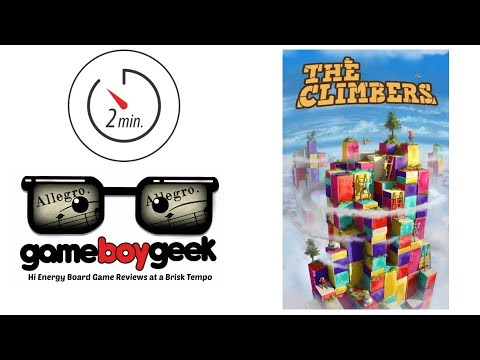 The Game Boy Geek's Allegro (2-min Review) of The Climbers