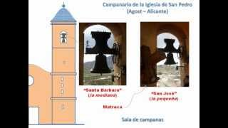 preview picture of video 'Visita Virtual al campanario de Agost (Alicante)'
