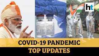 Covid update: Russia starts vaccine production; PM Modi on 3 vaccine trials  IMAGES, GIF, ANIMATED GIF, WALLPAPER, STICKER FOR WHATSAPP & FACEBOOK