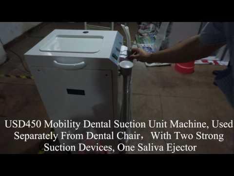 Mobility Dental Suction Unit Machine