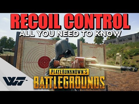 Pubg recoil :: PLAYERUNKNOWN'S BATTLEGROUNDS General Discussions