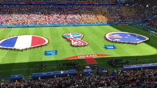 Выход сборных Франции и Австралии, Чемпионат мира в Казани