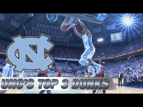 Video: North Carolina's Top 3 Dunks vs Louisville