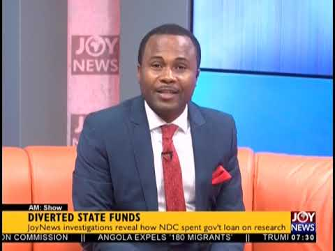 Diverted State Funds - AM Talk on JoyNews (16-10-18)
