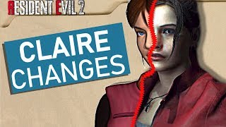 Resident Evil 2 Remake - NEW Changes to CLAIRE REDFIELD
