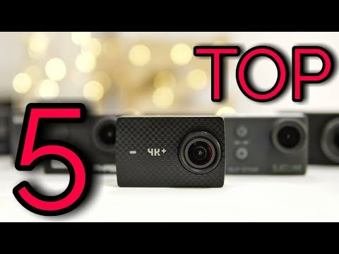 TOP 5 Best Budget Action Cameras in 2018