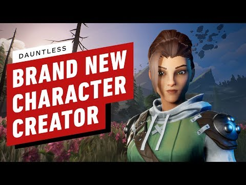 Dauntless : First Look at Dauntless's New Detailed Character Creator