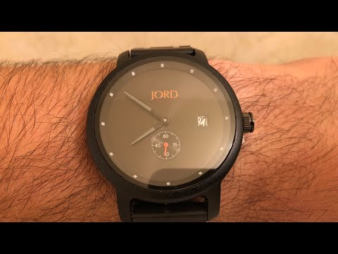 JORD Wooden Watch Unboxing