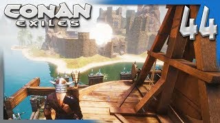 FIREWORKS FOR THE NEIGHBORS! | Conan Exiles Multiplayer Gameplay/Let