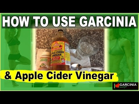 How To Use Garcinia Cambogia And Organic Braggs Apple