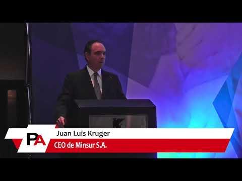 Bienvenida de Kruger, CEO de Minsur, al III Encuentro de Socios Estratégicos de la División Minera