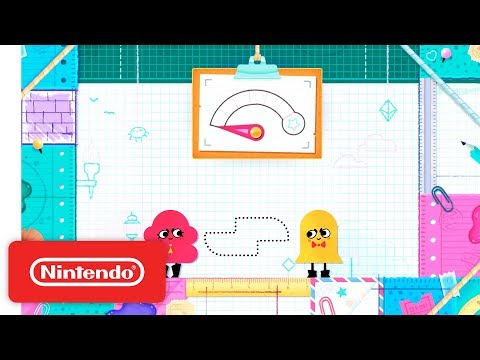 Snipperclips Plus: Cut It Out, Together! Launch Trailer - Nintendo Switch thumbnail