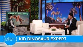 Kid Dinosaur Expert Schools Mario Lopez on YouTube Subscribers