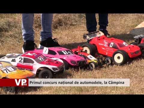 Primul concurs național de automodele, la Câmpina