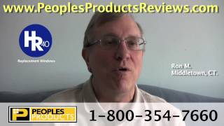 Ron M. - Windows Testimonial