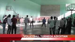 preview picture of video 'Volleyball txapelketa Azkoitian'