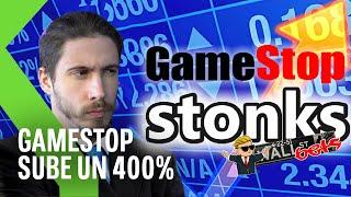 ¡Las ACCIONES de GameStop EXPLOTAN! Reddit sube su valor un 400%