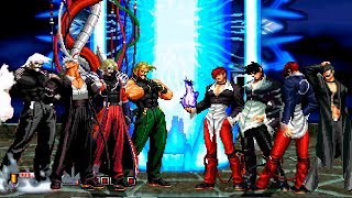 Kof Mugen Rugal Team VS Iori Team