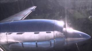 preview picture of video 'Sharp Airlines Metroliner performing two missed approaches at Hamilton and landing at Portland'