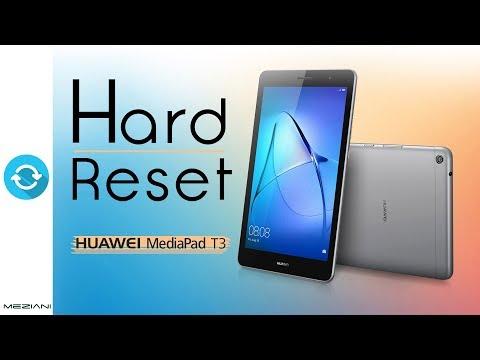 Hard Reset HUAWEI MediaPad T3 | Factory Reset | meziani