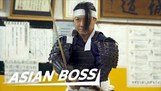 Meet A Real Samurai (Cuts 240 mph BB Gun Pellet) | EVERYDAY BOSSES #15