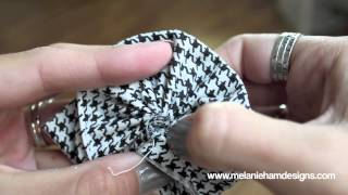 ♥♥ How To: Make A Fast And Easy Fabric Flower ♥♥