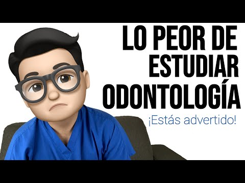 ¡LO PEOR 💩 DE ESTUDIAR ODONTOLOGÍA! Terapia de Choque 😍